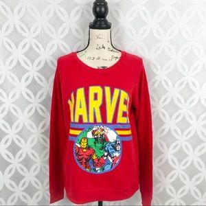 Marvel Avengers Varsity Pullover Sweater